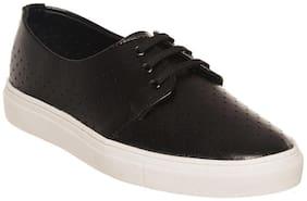 Bruno Manetti Black Sneakers