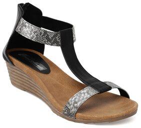 Bruno Manetti Black Sandals
