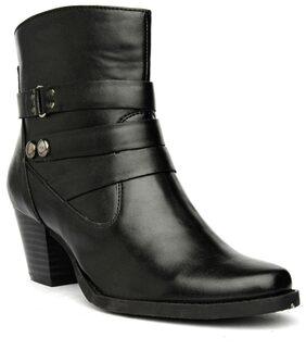 Bruno Manetti Women Black Boots