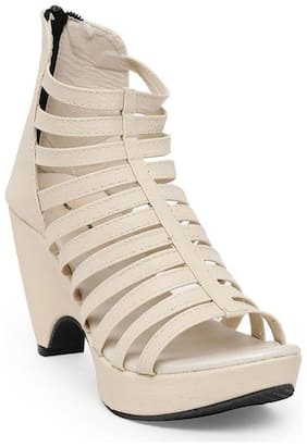 Bruno Manetti Women Beige Sandals