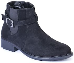 Bruno Manetti Women Black Ankle length Boots