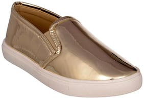 Bruno Manetti Women Gold Casual Shoes