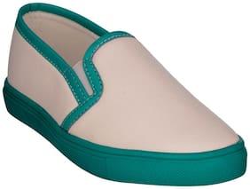 Bruno Manetti Women White Casual Shoes
