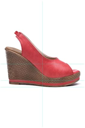 Bruno Manetti Red Wedges