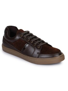 Bruno Manetti Men Brown Sneakers