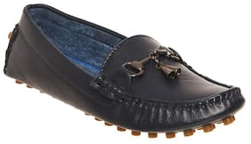 Bruno Manetti Blue Loafers