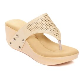 Bruno Manetti Cream Wedges