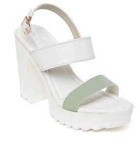 Bruno Manetti Women White Flats & Sandals