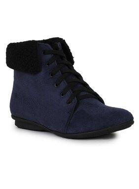 Bruno Manetti Women Blue Boot