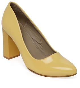 Bruno Manetti Yellow Heels