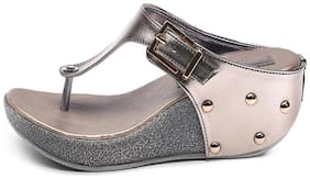 Bruno Manetti Grey Wedges
