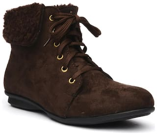 Bruno Manetti Women Brown Boot
