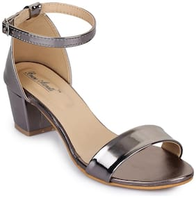 Bruno Manetti Women Grey Sandals