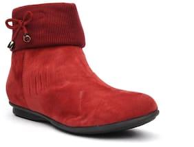 Bruno Manetti Women Red Boot