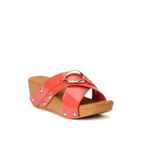 Bruno Manetti Pink Wedges
