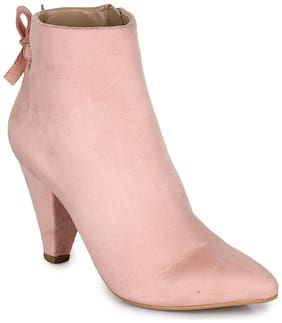 Bruno Manetti Women Pink Boot
