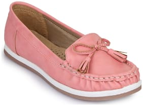 Bruno Manetti Women Pink Casual Shoes