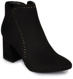 Bruno Manetti Women Black Boot