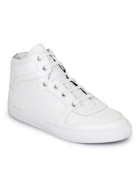 Bruno Manetti Men White Sneakers
