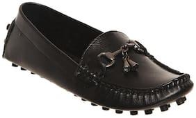 Bruno Manetti Black Loafers