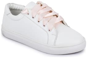 Bruno Manetti Women Beige Sneakers