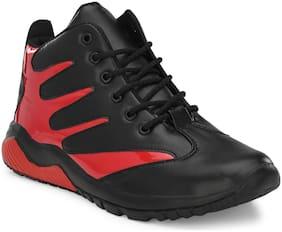 BUCIK Men Red Outdoor Boots - BCK067-RED