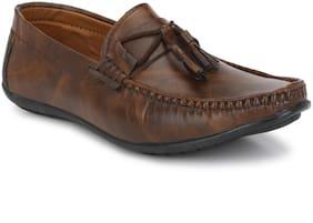 BUCIK Men Brown Loafers - BCK1065-BROWN