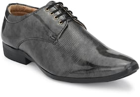 BUCIK Men Grey Derby Formal Shoes - FORMAL SHOES - BCK055-GREY