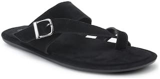 Scentra Men Black Outdoor slippers