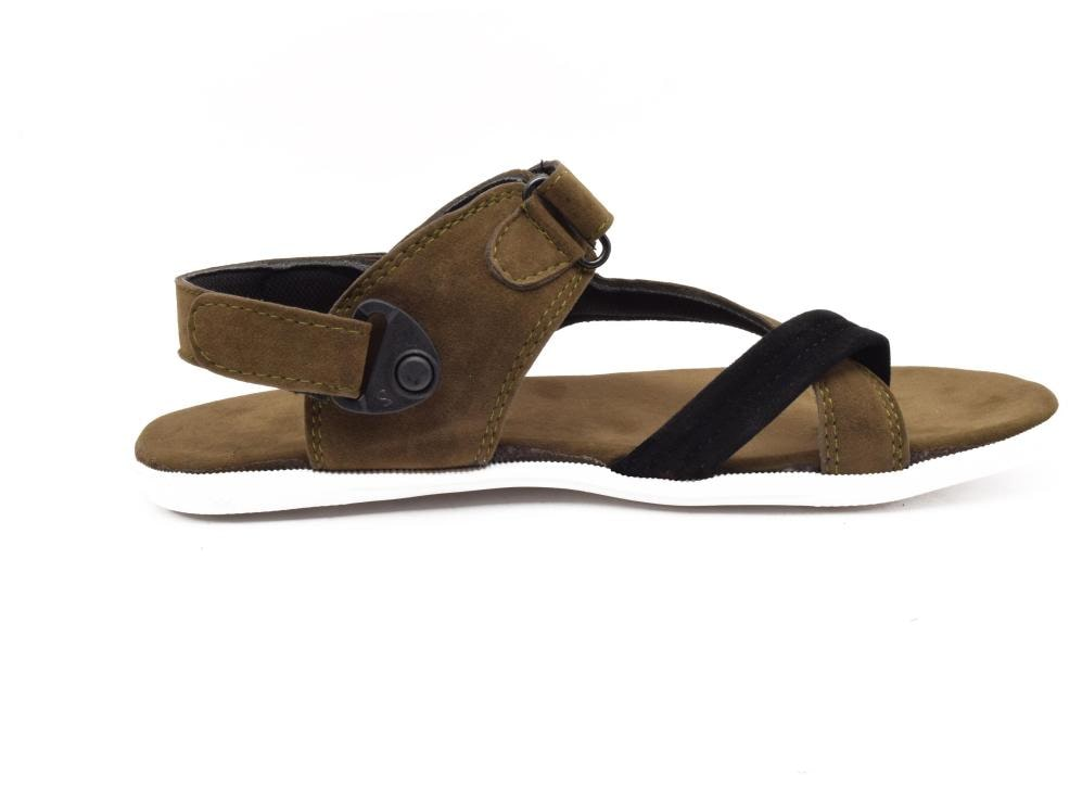 d058aa36578e Buy Bunkeys Men s Outdoor Sandals Brown   White (K 243) Online at Low  Prices in India - Paytmmall.com