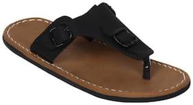 Butchi Men Black Flip-Flops -