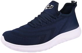 Calcetto Men PLUS-013 Running Shoes ( Navy Blue )