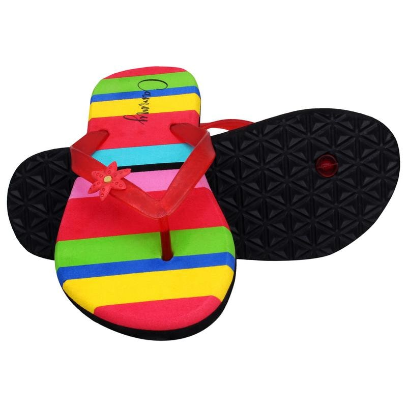 13348645666 Buy Cammy Women Multi-color Flipflops Online at Low Prices in India -  Paytmmall.com