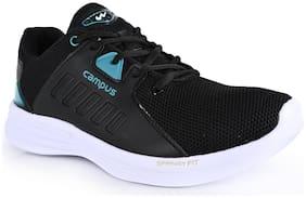 Campus Men BRAVO Running Shoes ( Black )