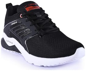 Campus Men CRYSTA Running Shoes ( Black )