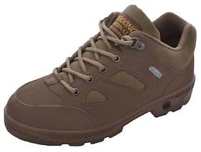 Campus Men Brown Running Shoes