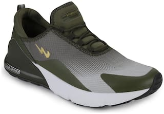 Campus Running Shoes For Men ( Green )