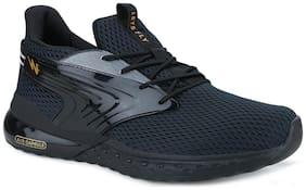 MOROCCO Running Shoes For Men ( Black )