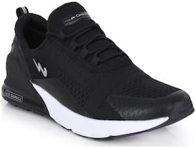 Campus Men Running Shoes ( Black )