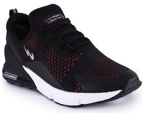 Campus Men's DRAGON-PRO Black Running Shoes