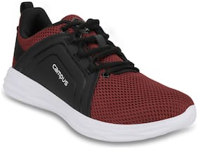 Campus Men GEORGE Running Shoes ( Red )