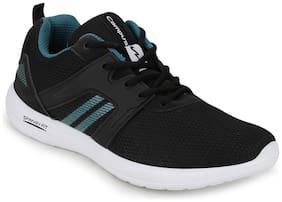 Campus Men TOM Running Shoes ( Black )