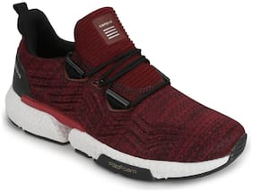 Campus Men's BOSTON Maroon Running Shoes
