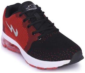 Campus Men's GEO Red Running Shoes