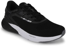 Campus Men ENGINE Running Shoes ( Black )