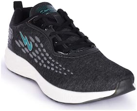 Campus Men Running Shoes ( Black )