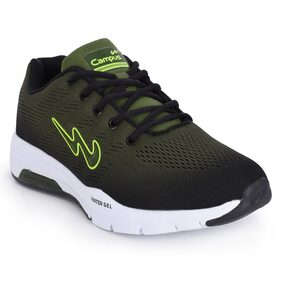 Campus Men Green Running Shoes - 5g-623-olive-blk-6
