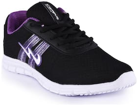 Campus Women PERRY Running Shoes ( Black )
