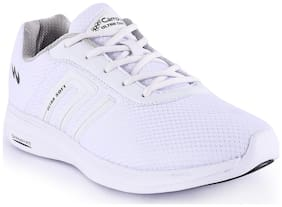 Campus Men Running Shoes ( White )