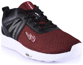 Campus Men Running Shoes ( Red )